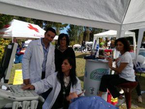 Prevenzione Ictus a fianco di A.L.I.Ce (Associazione Lotta all'Ictus Cerebrale) per uno screening gratuito in occasione dell'Health Village a Sora (FR)
