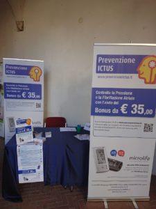 Prevenzione Ictus ha partecipato al Senior Expo Junior and Baby di Cosenza eseguendo gratuitamente screening del rischio Ictus
