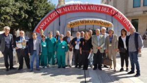 Prevenzione Ictus a fianco degli Amici del Cuore di Matera per la giornata mondiale del cuore